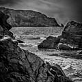 Plemont Rocks by Dean Baynham