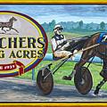 Pletchers Racing Mural Shipshewana by David Arment