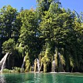 Plitvice Falls by Christine Rivers