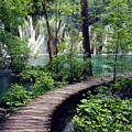 Plitvice Lakes by KC Woods