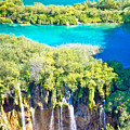 Plitvice Lakes National Park Vertical View by Brch Photography