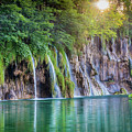 Plitvice Sunburst by Inge Johnsson