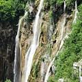Plitvice Croatia Waterfalls 2 by Shirley Stevenson Wallis