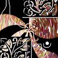 Plum And Black by Rizwana A Mundewadi