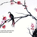 Plum Blossom Bird    by Sibby S