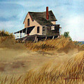 Plum Island Shack by Anne Trotter Hodge