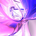 Plum Juices Abstract by Alexander Butler