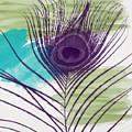 Plumage 2-art By Linda Woods by Linda Woods