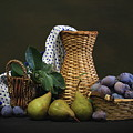 Plums And Pears by Dagmar Luhringova