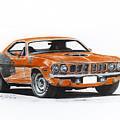 Plymouth Barracuda 1973 Hemi Cuda by Miro Porochnavy