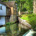 Plymouth Grist Mill by Tammy Wetzel