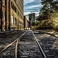 Plymouth Street Sundown by Jeff Watts