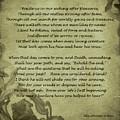 Poem The Question By Ella Wheeler Wilcox by Olga Hamilton
