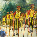 Pogo Stick Race by Catherine Lawhon