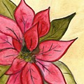 Poinsettia  by Monica Martin