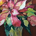 Poinsettia by Ronald Dill