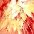 Poinsettias by Joan  Jones
