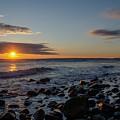 Point Allerton Sunrise - Nantasket Island by Bill Cannon