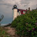 Point Betsie Lighthouse by Dan Sproul