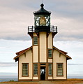 Point Cabrillo Lighthouse by YJ Kostal