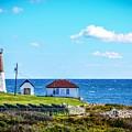 Point Judith Lighthouse by Lisa Kilby