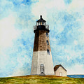 Point Judith Lighthouse by Michael Vigliotti