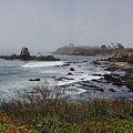 Point Montara Lighthouse by David Bearden