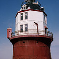 Point No Point Lighthouse Chesapeake Bay Maryland by Wayne Higgs