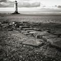 Point Of Ayre Lighthouse by Jon Baxter