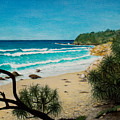 Point Perry Coolum Beach by Joe Michelli