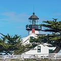 Point Pinos Lighthouse by David A Litman