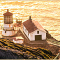 Point Reyes Lighthouse 2 by Bonnie Follett