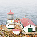 Point Reyes Lighthouse At Point Reyes National Seashore Ca by Christine Till