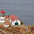 Point Reyes Lighthouse Ca by Christine Till