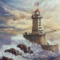 Point St. George Reef Lighthouse by Lynne Parker