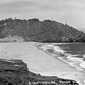 Point Sur Light Station Circa 1939 by California Views Archives Mr Pat Hathaway Archives