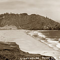 Point Sur Lightstation  Sits 361 Feet Above The Pacific Ocean Su by California Views Archives Mr Pat Hathaway Archives