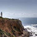 Point Vicente Lighthouse In Winter by Heidi Smith