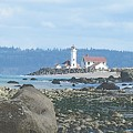 Point Wilson Lighthouse by Barbara Henry