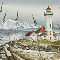 Point Wilson Lighthouse by James Williamson