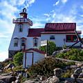 Pointe Au Baril Lighthouse by Anthony Dezenzio
