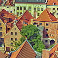 Poland, Torun, Houses. by Adriano Bussi