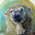 Polar Bear Portrait Study 3 by Christine Montague