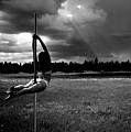 Pole Dance Storm 1 by Scott Sawyer