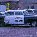 Police Car Seligman Azorina by Garry Gay