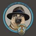 Police Dog by Gene Sherman