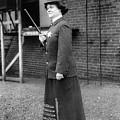 Policewoman, 1909 by Granger