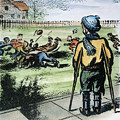 Polio Cartoon, 1957 by Granger