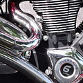 Polished Motorcycle Chrome by Cherokee Blue