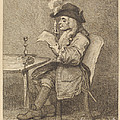 Politician by John Keyse Sherwin After William Hogarth